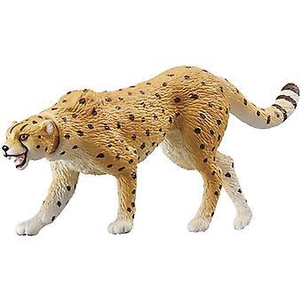 Takara Tomy Animal, Resina ghepardo, Mini Action Figure Giocattolo.