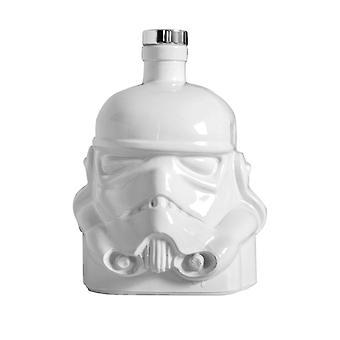 Original Stormtrooper Karaffe weiß mit Korkenverschluss, Fassungsverm÷gen ca. 750 ml.