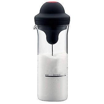 Milk Frother Electric Foamer, Coffee Foam Maker, Milk Shake Mixer, Battery Jug