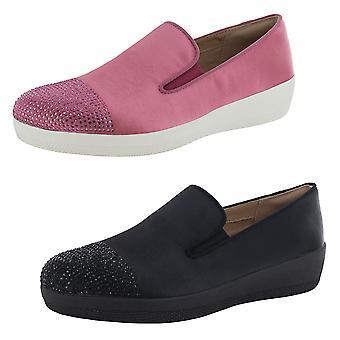 Fitflop Superskate Superskate Crystal Toe Loafer Zapatos