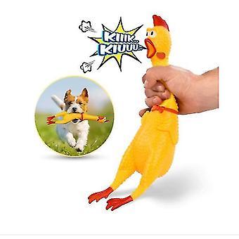 L lapset aikuinen lemmikki lelu decompression hauska huutava kana huutaa kana az5111