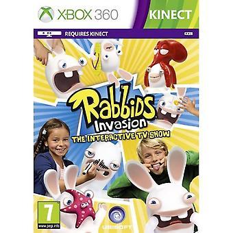 Rabbids Invázió Az interaktív TV Show XBOX 360 játék