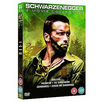 Arnold Schwarzenegger 4 Movie Collection DVD