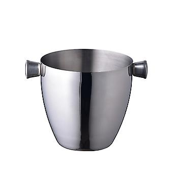 Ice Bucket Stainless Steel Double Wall Wine Bucket for Bar Party Kitchen Picnic