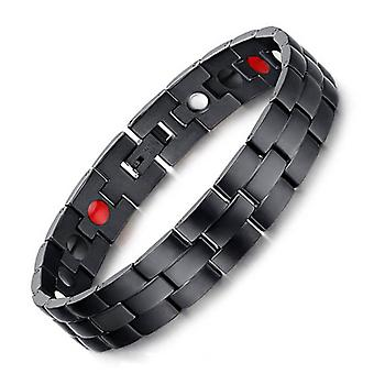 Magnet Energy Bracelet  Titanium Steel Bracelets For Men Perfect Gift With Free Link Remove Tool