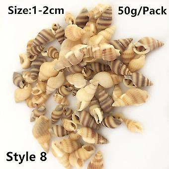 Natural Shell Conch Filling Tools Ocean Style Filler Decoration Shell Diy Epoxy