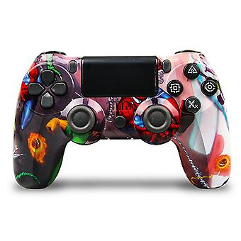 Customized DoubleShock Bluetooth Wireless PS4 Controller, Spider Man
