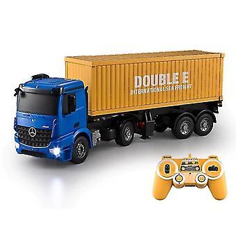 RC Truck 2.4G High Speed Car Electric Model Symulowany dla dzieci prezenty urodzinowe  RC Samochody ciężarowe (niebieski)