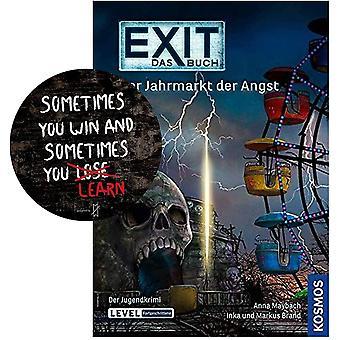 Kosmos Exit - Das Buch - Der Jahrmarkt der Angst Taschenbuch + 1x Exit-Sticker