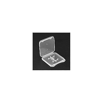 10Pcs transparente caso de almacenamiento de tarjeta de memoria TF único