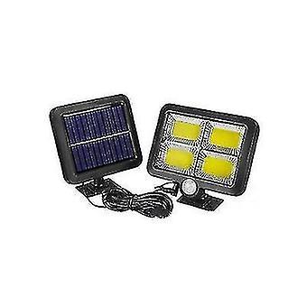 Auringon halkaistu tyyppi ihmiskehon induktiolamppu, LED ulkopihan seinävalaisin(128COB)