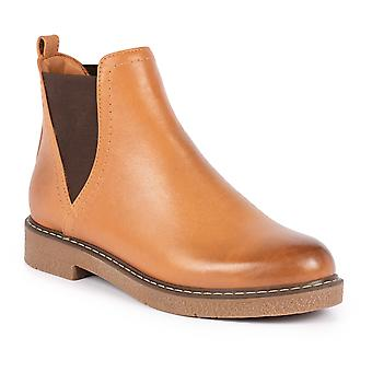Lunar Chelsea Tan Leather Ankle Boot