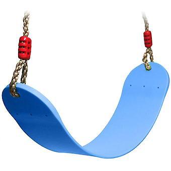 Children's Swing Eva Soft Board Swing Garden Toys, blauw