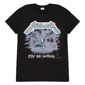 Metallica Ride The Lightning Damska koszulka Boyfriend Fit