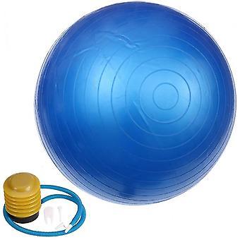 الأزرق 65cm ممارسة كرة اليوغا المضادة للانفجار زلة أداة اللياقة البدنية الكرة المقاومة لتوازن بيلاتس العمل بها lc360