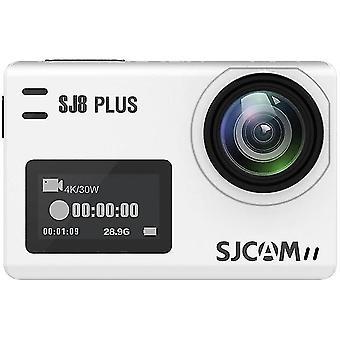 4K Action Camera SJ8 Plus1296P 4K 60fps HD(White)
