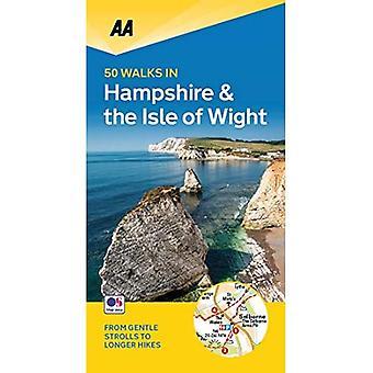 50 Walks in Hampshire & Isle of Wight (AA 50 Walks)
