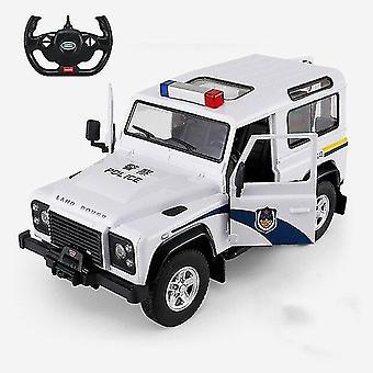 Korkealaatuinen 2.4G Kaukosäädin Poliisi Leluauto Avattavat ovet Korkeat lahjalelut| RC-autot