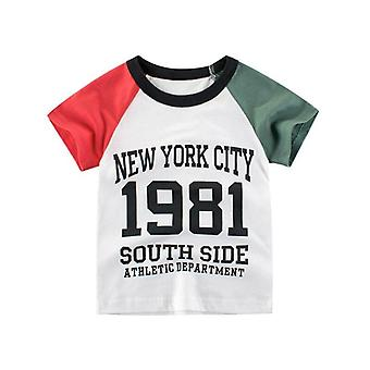 Lapset Lyhyt hihat Leijona Tee Taapero T-paidat