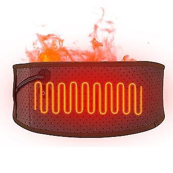 3 Vaihde säädettävä vyötärö kuuma pakkaus pitkä infrapuna sähkölämmitys hoito takaisin vyötärö tukivyö