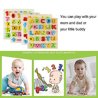 Wooden Children Baby Kids Learning Educational Toys Puzzle Learning Toys