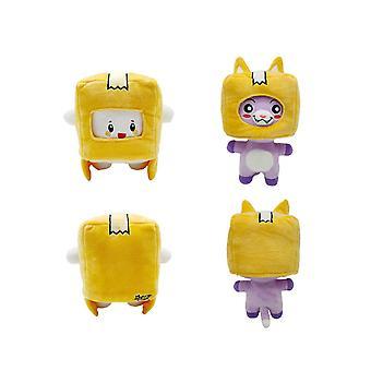Lankybox Plush Soft Stuffed Toy Kid Plushie Doll