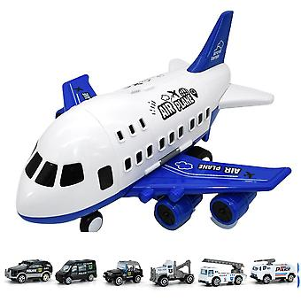 Tröghet Barns leksaksflygplan Leksaksförvaring Torage Legerad Bil