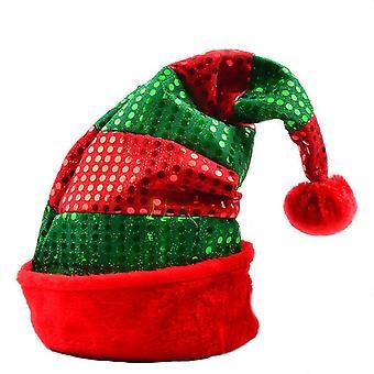 Paljetti joulu hattu joulu mekko paljetti hattu