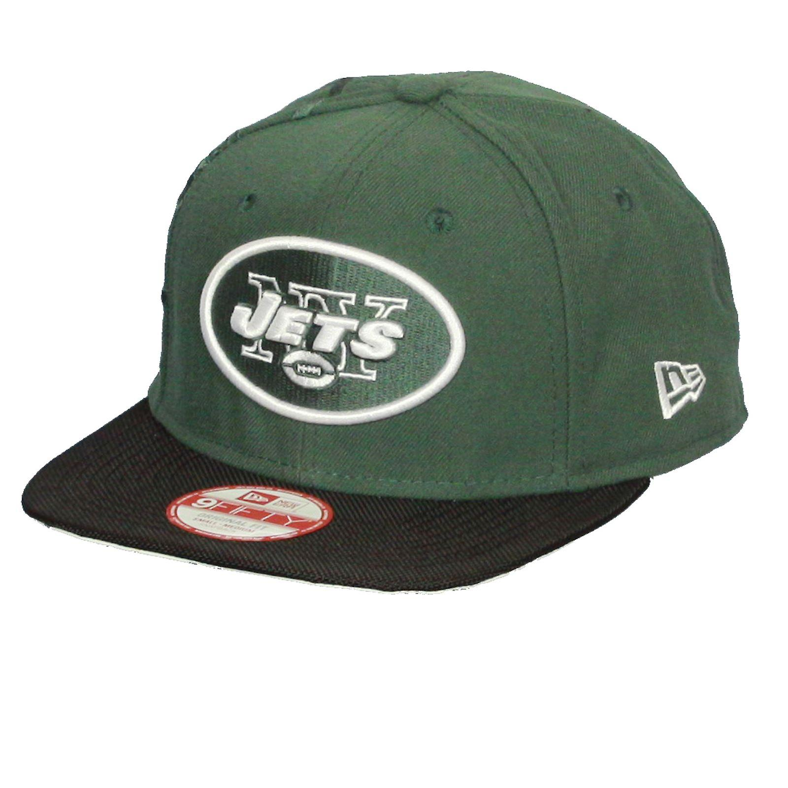 New Era and NFL Sideline 9Fifty Flatbill Cap ~ New York Jets
