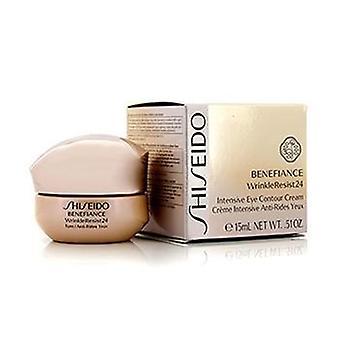 Shiseido Benefiance Wrinkleresist24 intensieve Eye contour Cream-15ml/0.51 Oz