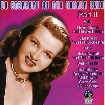 Jo Stafford - At the Supper Club Pt. 2 [CD] USA import