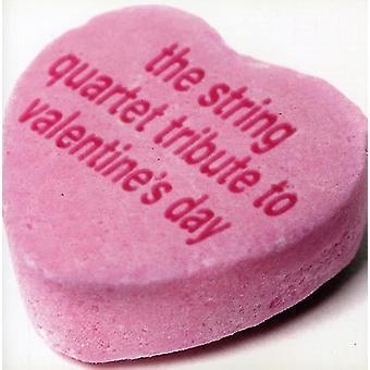 Vitamin String Quartet - String Quartet Tribute to Valentine's Day [CD] USA import