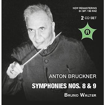 A. Bruckner - Antón Bruckner: Importación sinfonías nos. 8 & 9 [CD] Estados Unidos