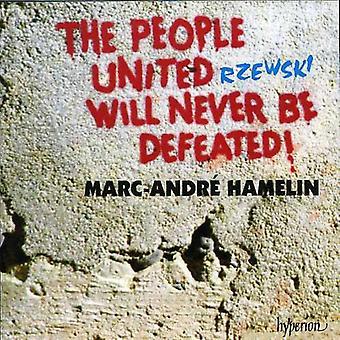F. Rzewski - Rzewski: The People United Will Never Be Defeated! [CD] USA import