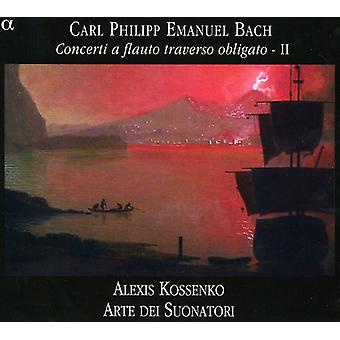 C.P.E. Bach - C. P. E. Bach: Concerti a Flauto Traverso Obligato, Vol. 2 [CD] USA import