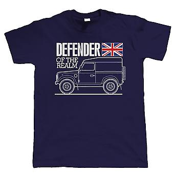 Defender Of The Realm, Mens Off Road T Shirt, Gift For Dad Him