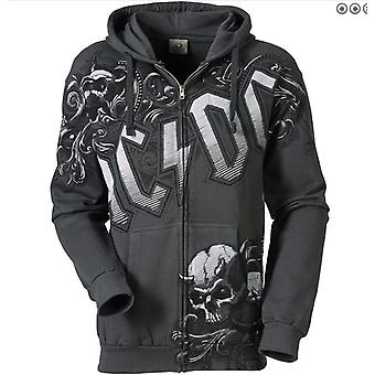 Liquid blue - night prowler acdc - men's hoodie