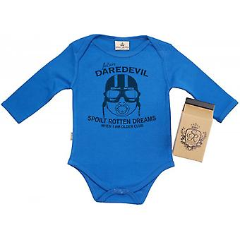 Spoilt Rotten SR Dreams Future Devil Babygrow 100% Organic Cotton