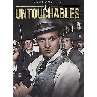 Untouchables Mini: Season 1-4 [DVD] USA import