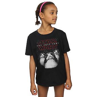 Star Wars ragazze l'ultimo Jedi Porgs t-shirt