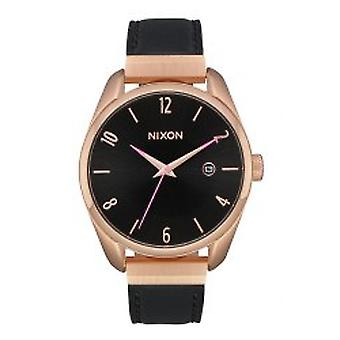 Nixon The Bullet Leather Luxe Rose Gold / Black (A1185-1098)