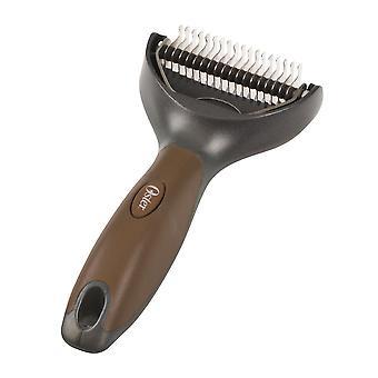 Kruuse Premium Dog Hair De-Shedding Groomer Comb
