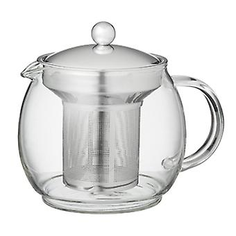 Ceylon Glass Teapot Stainless Steel Infuser