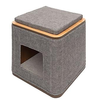 Vesper Cubo Gris (Cats , Bedding , Igloos)