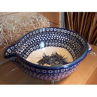 Rømme grunnlegger, 14 x 19,5 cm, 2 Bunzlauer keramikk - BSN 1591
