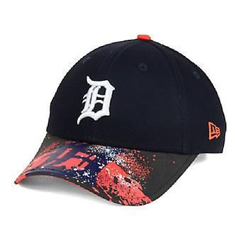 Detroit Tigers MLB Nova Era 9Twenty Splatter Snapback chapéu