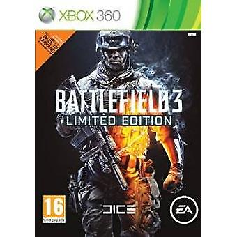 battlefield 3 édition limitée pack de guerre physique xbox - Nouveau