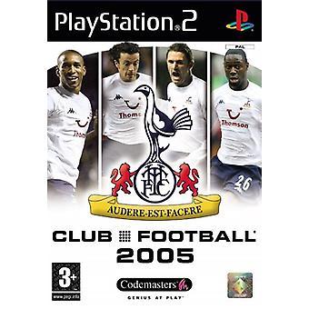 Club Football Tottenham 2005 (PS2) - Nouvelle usine scellée