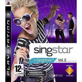 SingStar Vol. 2 - PlayStation Eye Enhanced (PS3) - Comme neuf