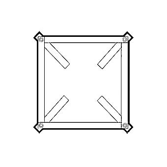 Instalacja Counter rama dla TR Torrette dach fan zakres